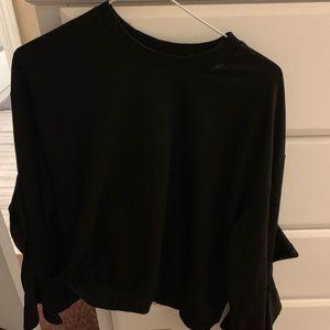 JOA bell sleeve sweatshirt
